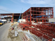Hall construction, Voest Alpine Stahl Linz