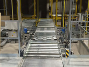Unit load conveyor system, Colruyt  Belgien